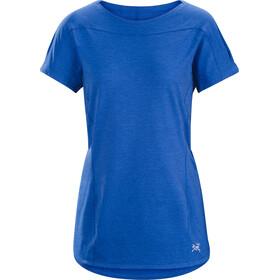 Arc'teryx Taema Crew SS Shirt Women Somerset Blue